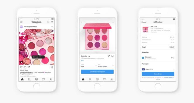 Instagram lance l'achat des produits sans quitter l'application
