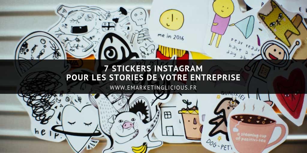 7 stickers Instagram pour les stories de votre entreprise